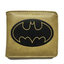 Fashion Cute Cartoon Wallet Batman Dragon Ball Spider-Man Harry Potter Card Holder Short Wallets Dollar Price Pures Money bags