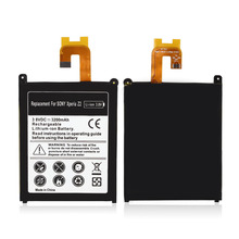 Buy High Capacity 3200mAh Rechargeable Lithium Ion Replacement Battery Sony Xperia Z2 L50t L50w bateria battery for $6.94 in AliExpress store