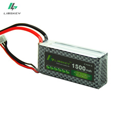 Limskey POWER 3S 11.1V 1500MAH T/XT60 Remote control model aircraft battery manufacturers Lithium Polymer 2S Li-po 11.1 battery
