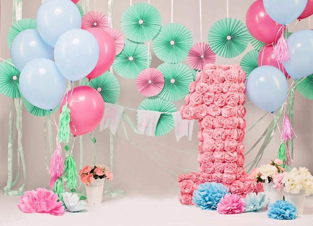 Thin vinyl photography backdrops  birthday computer Printing background for photo studio F-2751<br><br>Aliexpress