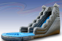 (China Guangzhou) manufacturers selling inflatable slides , Pool slides  CTB-042