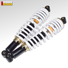 one pair  front shock absorber suit for  HISUN700CC UTV HS 700CC UTV Hole distance is  400mm white color