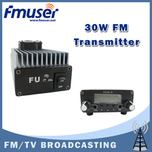 Free shipping FMUSER FU-30A 30W Professional FM amplifier power amplifier Set for FM transmitter+FU-30E 0.2w FM exciter