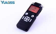 Yulass 8GB Digital Voice Recorder Dictaphone Large Black Professional Business Portable Dual-core USB Audio Recorder Of MP3/WAV(China)