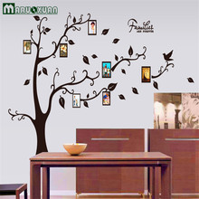 Black Tree Black Tree Leaf Memory Photo Frame Bedroom Living Room Wall Stickers Factory Outlets
