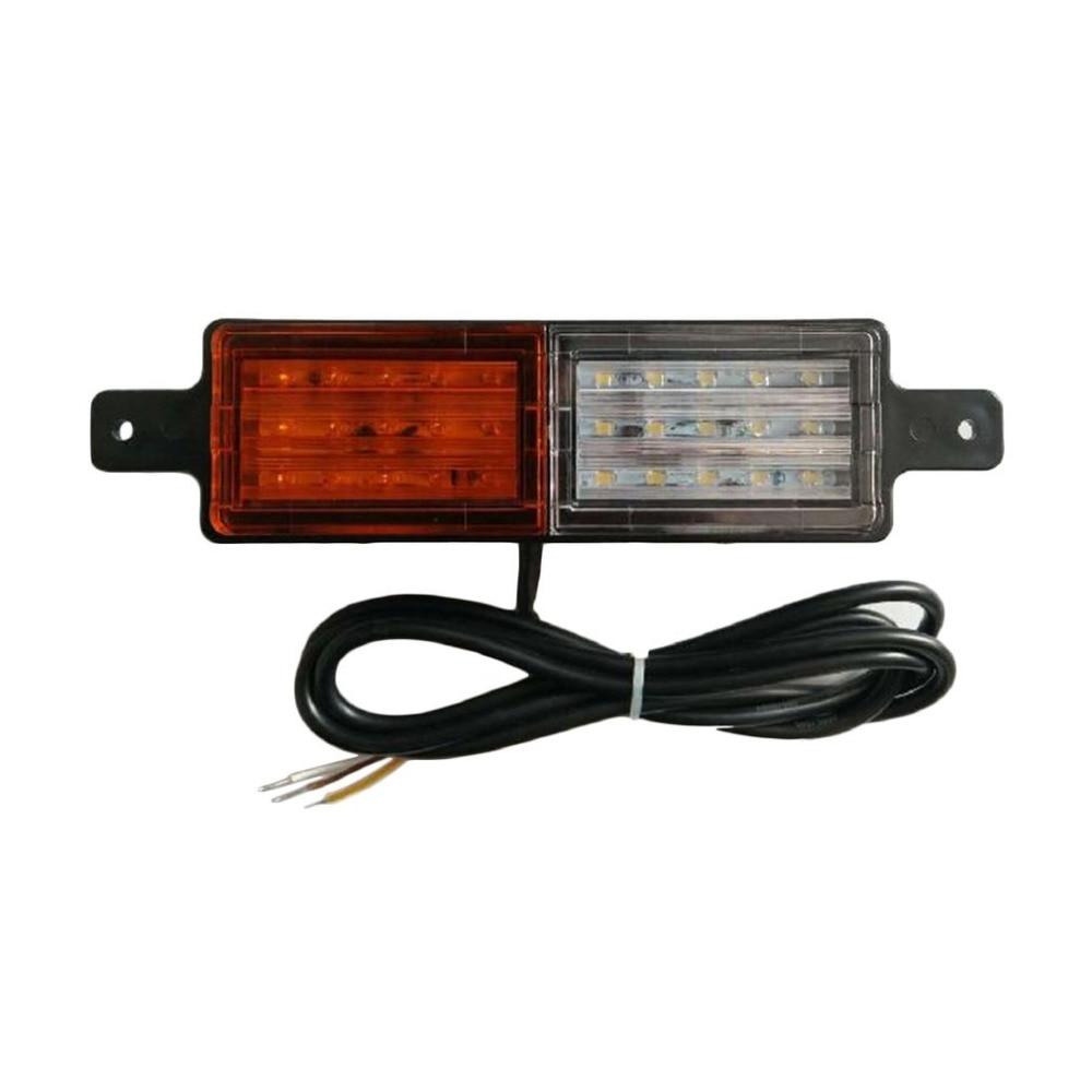 1 Pair 10-30V DC 30LED HL-S02 Car Truck LED Side Light Warning Lights Taillights License Plate Lights Car Lights<br>