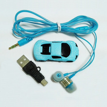 5 Pieces New Sports Car MP3 Player Super Cool Mini MP3 Music Player With Built-in Speaker Offer Earphone & USB Cable