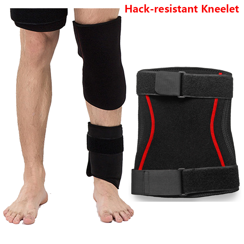 New FBI Stealth Anti-stab Anti-cut Knee Pads anti-Collision Soft Tactical Self-Defense Protective Gear Hack-Resistant Kneelet<br>