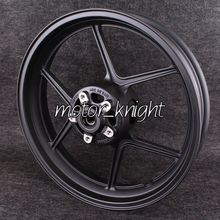 Motorcycle Front Wheel Rim For KAWASAKI ZX-10R 2004-2005 ER-6N 2006 2007 2008 2009 2010 2011 2012 Black