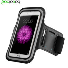 Armband for IPhone 5 5S SE 6 6s Plus Waterproof Gym Sports Running Armband Arm Band Pouch Phone Case O010203(China)