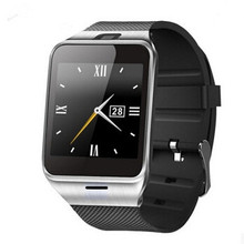Smartch HOT selling gv18 Aplus smart watch phone NFC camera pedometer smartwatch 450mAh for android wristwatch phone