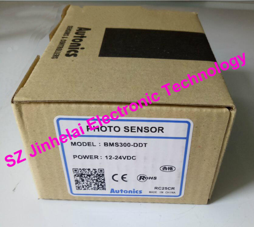 100% New and original  BMS300-DDT  AUTONICS  PHOTOELECTRIC SWITCH    12-24VDC<br>