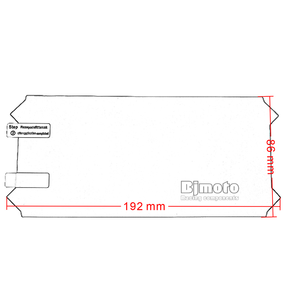 Motorcycle Accessories Dashboard Instrument Speedometer Film Screen Protector Stickers mt09 (8)