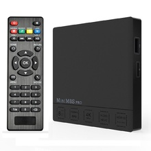 10pcs Mini M8S PRO Android 7.1 TV Box Amlogic S912 Octa Core DDR3 2GB 16GB Dual Wifi Set top Box Media player(China)