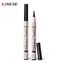 KIMUSE Black New Cosmetics Makeup Not Dizzy Waterproof Liquid Eyeliner Pencil Maquiagem Eye Liner(China)