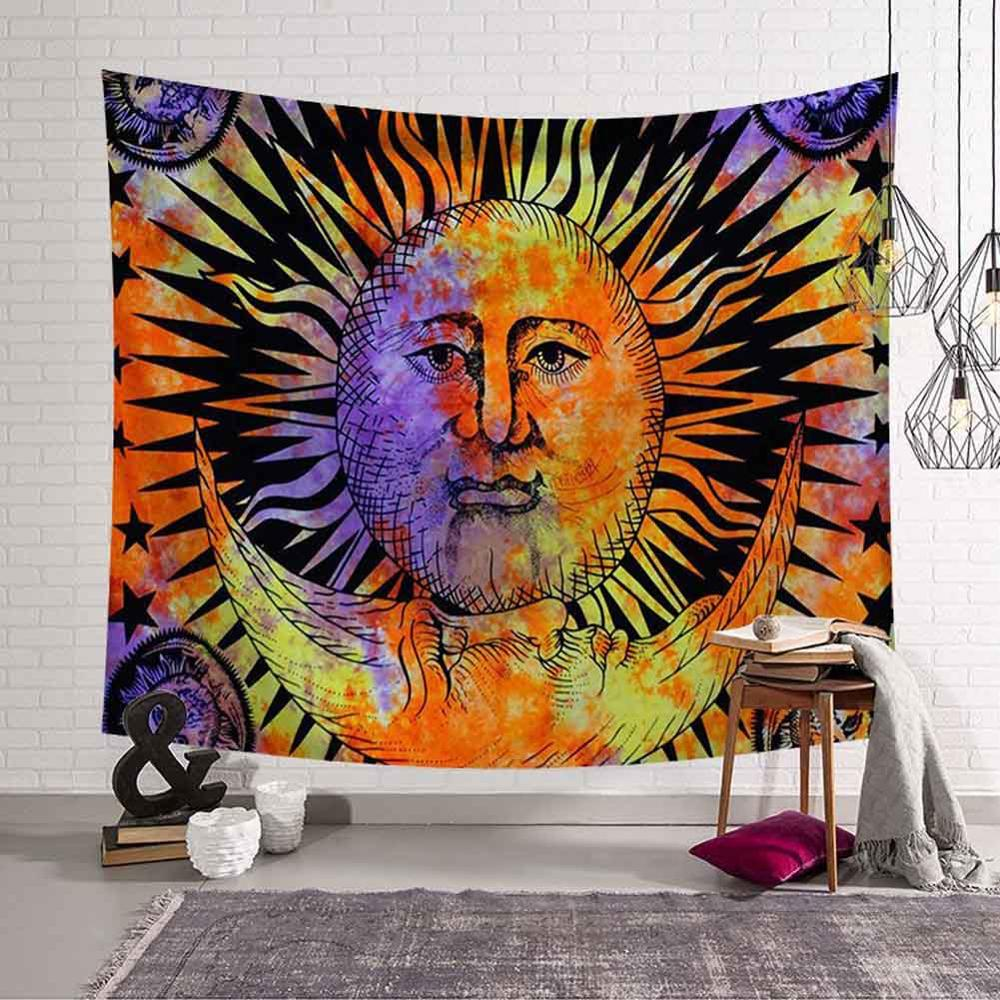 GT8076-7 Sun and Moon Tapestry