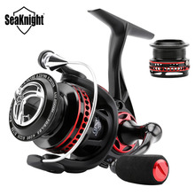SeaKnight AXE2000H Saltwater Spinning Fishing Reel 6.2:1 10+1BB 9KG Open Aluminum Rotor Ultralight Fishing Reel+Free Spare Spool