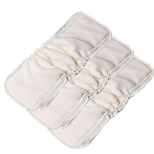 Sunny Ju 3 PCS/ Pack 5 Layers Bamboo Cotton cloth diapers Inserts Nappy changing mat Baby Diapers Reusable diaper changing pad