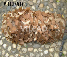 VILEAD 8M*5M Wholesale Hunting Camping Military Photography Desert Camouflage Net Woodland Leaves Camo Cover Free Shipping