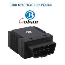 50pcs/lot Coban Realtime 306B TK306B GSM GPRS SMS Car Vehicle GPS Tracker OBD2 Auto Alarm System
