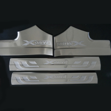 Stainless steel Interior Door sill Scuff Plate covers car accessories For BMW X3 F25 2011 2012 2013 2014