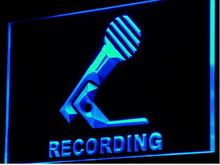 Recording Microphone On Air NEW Beer Bar Pub Restaurant beer bar pub club led noen Light Sign