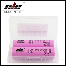 Eleoption High Quality Battery For Samsung 18650 2600mah 3.7 V battery ICR18650 26FM Li ion Rechargeable Battery(China)