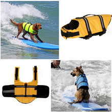 New Fashion Yellow Color Reflective Strip Pet Dog Life Jacket&Dog Life Vest Swimming Wear Dog life Preserver
