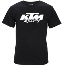 Latest Ktm 2 T Shirt Men 100% Cotton Oversize T-Shirt Teenage Tshirts Short Sleeve XS-XXL S111(China)