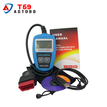 Newest QUICKLYNKS Multi-language CAN OBDII Scanner T59 Mini Code Reader Handy Auto Diagnostic Tool OBD2 EOBD JOBD Code Scanner