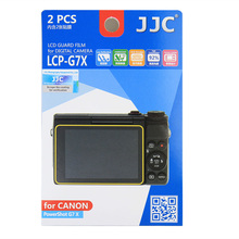 JJC LCP-G7X LCD Display Monitor Guard Film Screen Protector Case for Canon PowerShot G7X G5X G9X G7X Mark II EOS M100Cameras