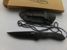 New Small Fixed Blade Knife, Hand tool Camping Hunting knife with ABS sheath