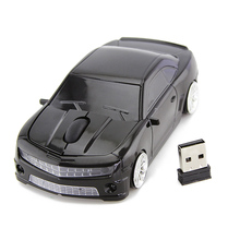 2.4GHz Car Wireless Mouse Racing Optical USB Mice 3D 3Buttons 1600 DPI/CPI Mause for PC Laptop Desktop