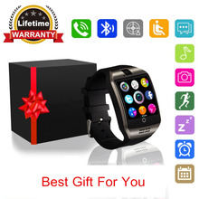 Q18 Smart Watch With Camera, Bluetooth Smartwatch Waterproof Cell Phone Watch Smart Wrist Watch With SIM Card For Android Phones(China)