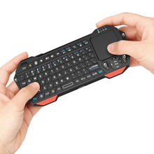 Portable 3 in 1 Mini Wireless Bluetooth Keyboard Backlight Mouse Mice Touchpad For Windows Android iOS Tablet HDTV Google TV Box
