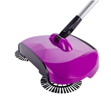 Hand Push Sweeper Magic Broom Eco-Friendly Sweeping Machine Household Plastic Broom Cleaning Tools