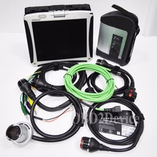 Win7 MB Star C4 SD Connect + HDD Xentry Diagnostic System Compact 4 Diagnosis Multiplexer For Cars&Trucks Diagnose + CF19 Laptop
