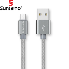 5V 2.1A Micro USB Cable Charging Cable,Suntaiho Nylon Braid USB Charger Sync Data Cable Samsung Galaxy Xiaomi HTC Sony Phone