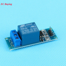 1Pcs DC 5V 1 Channel Relay Module Low Level Optocoupler Isolation 5V Relay Module Development Board Arduino