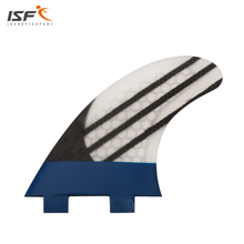 ISF New Style FCS Fin G5 Surfboard Fins Quilhas carbon fiber paint blue honeycomb thruster pranchas de surf paddle Surf fins(China)