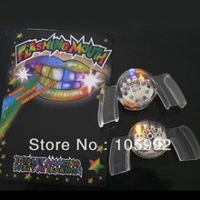 Novelty Party Fun Light Emitting Diode LED Teeth Lamp Color Changing led teeth braces toothsocket Free ship 24X/LOT