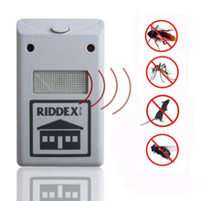 EU US Plug Electronic Ultrasonic Rat Mouse Repellent Anti Mosquito Repeller Rodent Pest Bug Reject Mole Repeller Pest Control(China)
