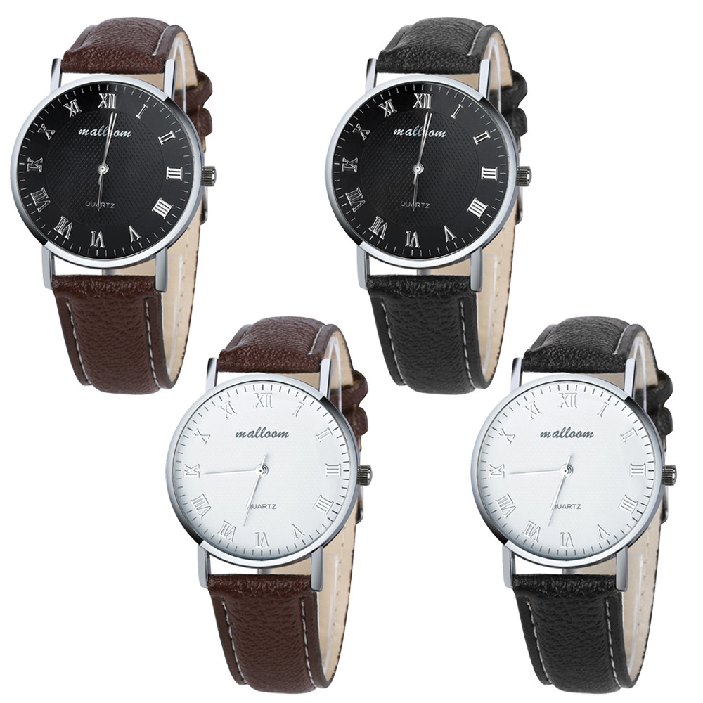 Hot selling elegant and noble male luxury watches famous brands Luxury Fashion Faux Leather Mens Quartz Analog Watch Watches<br><br>Aliexpress