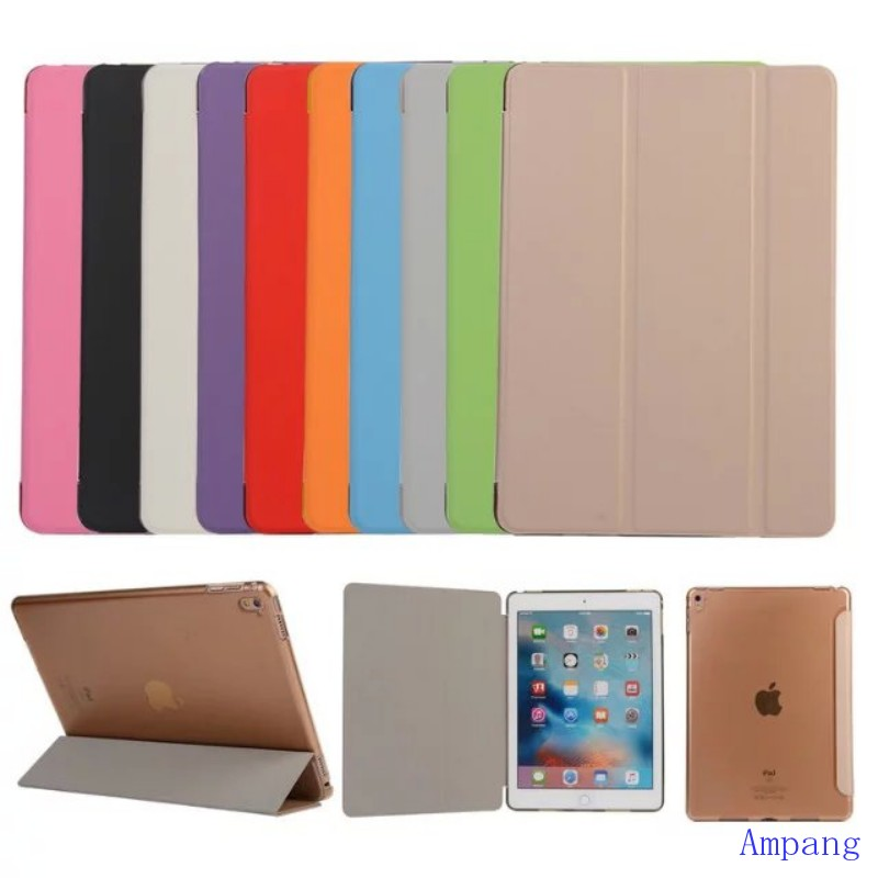 100pcs Magnetic Wake Up Cover for iPad Pro 9.7 Case Folding Smart Cover for iPad Pro Case 9.7 Slim Case Cover for iPad Pro 9.7<br><br>Aliexpress