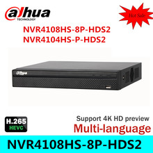 R&N Cost Effective Dahua 6MP Network Video Recoder NVR4108HS-8P-HDS2 NVR4104HS-P-HDS2 4/8CH NVR Support ONVIF CGI Conformant