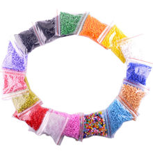 1000 PCS 5mm Perler Beads 1000Beads/Bag Colorful Optional Kids Magic Beads 16 Colors Available for buyers to choose Hand Made