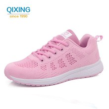 Buy 2017 New Air Mesh Running Shoes Women Outdoor Walking Sport Shoes Woman Comfortable Lace-up Breathable Sneakers Women Shoes 40 for $18.19 in AliExpress store