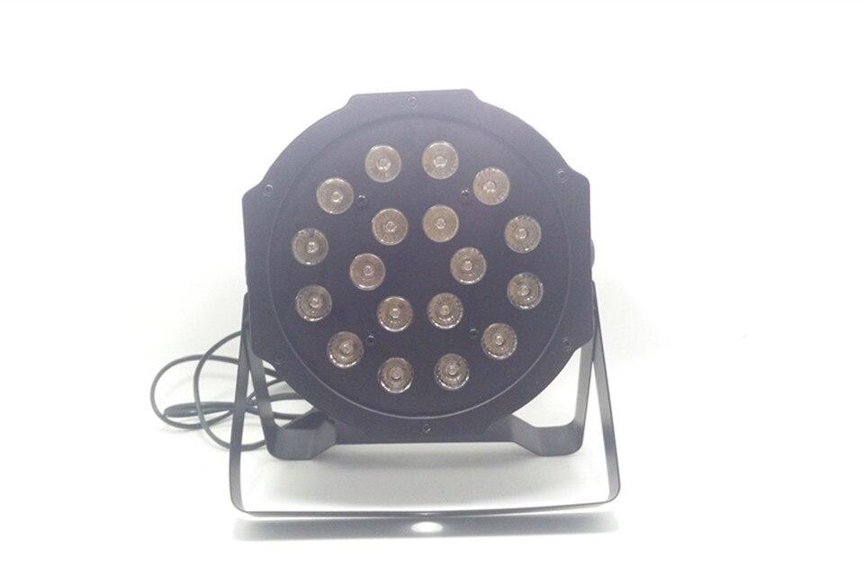 CREE 18x4W RGB 3IN1 LED Luxury DMX 3/7 Channels Led Flat Par Light<br><br>Aliexpress