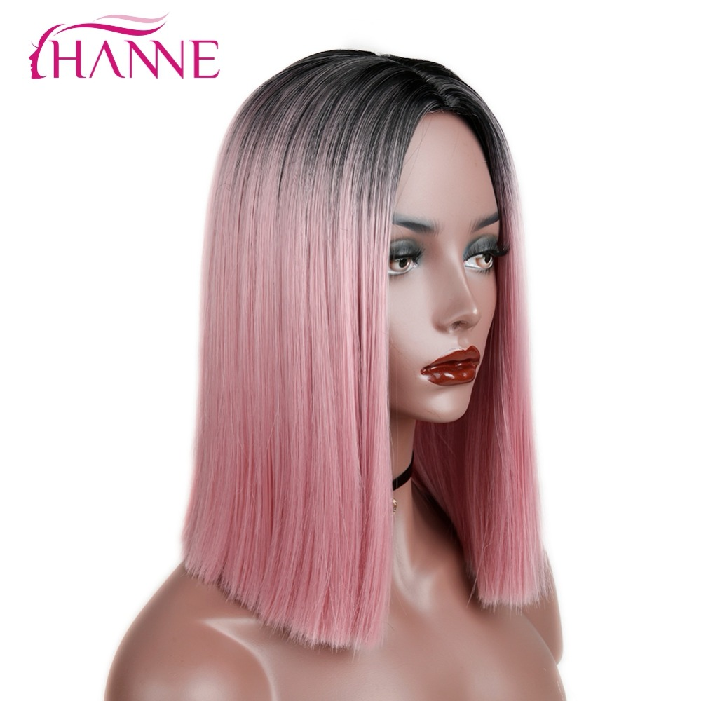 synthetic straight wig03