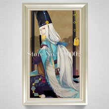 Diy Diamond Painting Onmyouji Illustration Wallpaper Kit Full Square Drill 5D Diamond Embroidery Rhinestones For Home Decoration